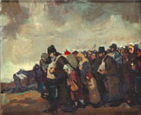 refugees by r. adolf adler