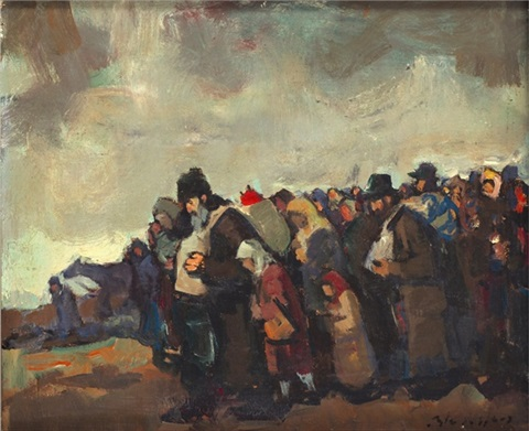 refugees by r adolf adler