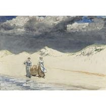 sand and sky by winslow homer