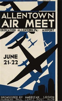 allentown air meet by posters: planes