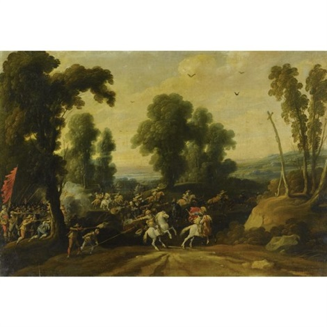 scena di battaglia by jan wildens
