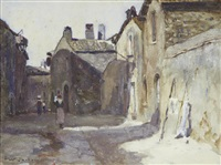 street scene by frederick william jackson
