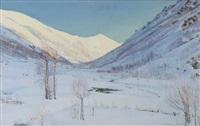 nevicata a forno alpi graie by giuseppe sobrile