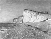 étretat, la plage by rené billotte