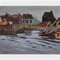 cheticamp-cape breton by ralph wallace burton