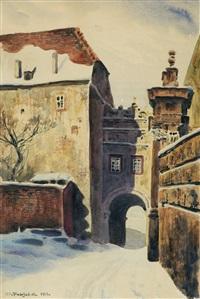 wawel. wasa gate by stanislaw poraj fabijanski
