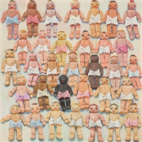 knitted babies by lucy culliton