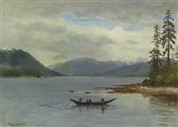 northwest coast, loring bay, alaska by albert bierstadt