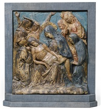 lamentation by donatello