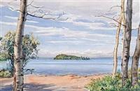 king island, waskesiu by ernest lindner