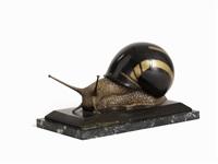 large snail by ennio tomai