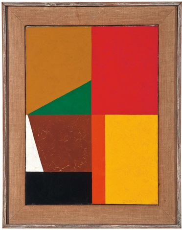 different quarters #12 by frederick hammersley