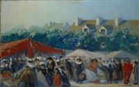 marché breton by rené augeron