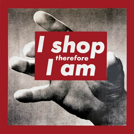 Untitled I Shop Therefore I Am By Barbara Kruger On Artnet