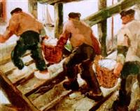 fishermen by jean van cleemput