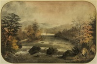 wabaseekat on the river by alfred worsley holdstock