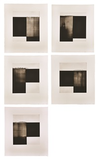 suite of five etchings by callum innes