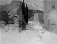 mediterranean ruins by frederick sands
