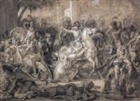 l'entrée du général bonaparte à alexandrie le 3 juillet 1798 by guillaume françois colson