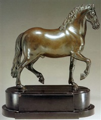 a pacing stallion by pietro tacca