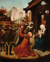 adoration of the magi by marcellus coffermans