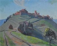 villas, tuscany by douglas robert dundas