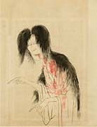 怪異図 (ghost) by ryusei kishida