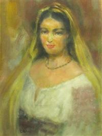 the yellow shawl by calin alupi
