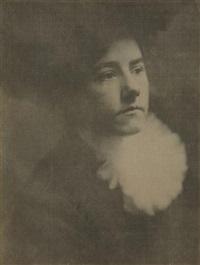 portrait of the artist's daughter (hermine käsebier) by gertrude kasebier