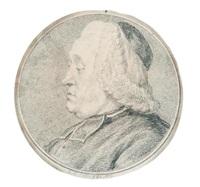 portrait d'abbé de profil gauche by charles nicolas cochin the younger