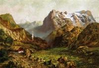 chaumière dans la vallée by manuel gimenez