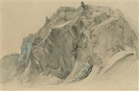 the castle rock, edinburgh by john ruskin