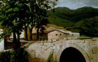 casas junto al puente by alberto duce