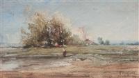 les lavandières by victor pierre huguet