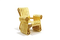 power play club chair by frank gehry