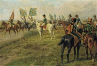 battle of jena, saluting the trophies of war by william barnes wollen