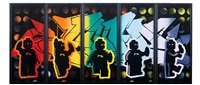 lego graffers (in 5 parts) by ame 72