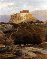 the acropolis by max roeder