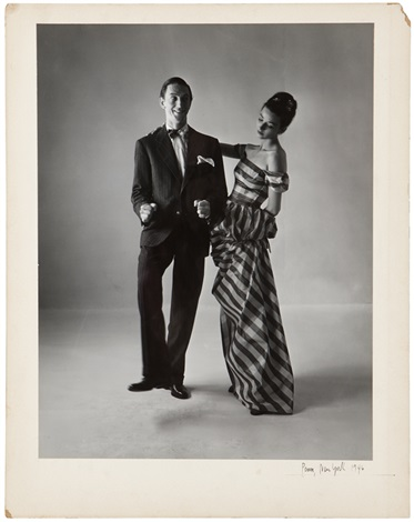ray bolger and model likely dorian leigh by irving penn