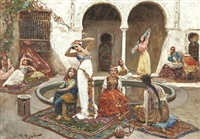 danseuses au harem by fabio fabbi
