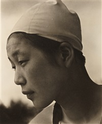 japanese swimmer (from the portfolio ›olympia‹), berlin by leni riefenstahl