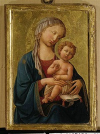 the madonna and child by domenico di michelino