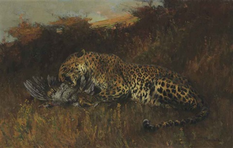 the leopard by arthur wardle