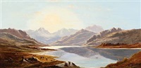 loch dhulich by charles leslie