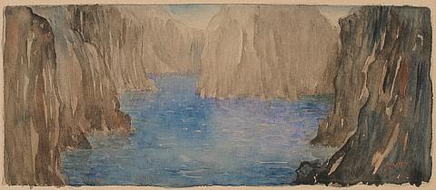 landscape by augustus vincent tack