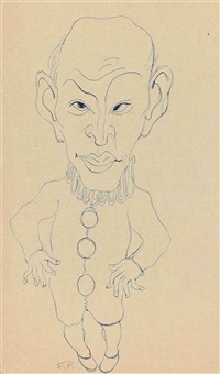 caricature by francis picabia