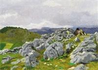 rocky landscape (izvora) by oszkár glatz