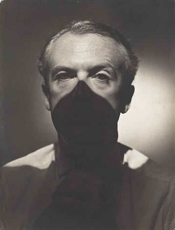 portrait of cecil beaton by erwin blumenfeld