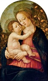 madonna col bambino by sandro botticelli