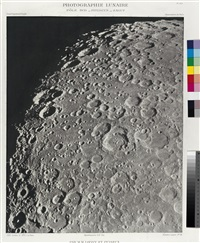 photographie lunaire, pole bsud-pitiscus-zagut by maurice m. loewy